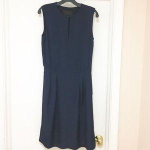 J. Crew Collection drapey keyhole dress size 0